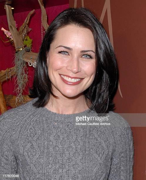 Rena Sofer during Diamond Information Center and InStyle Host 6th Annual Awards Season Diamond Fashion Show Preview at Beverly Hills Hotel in Beverly...