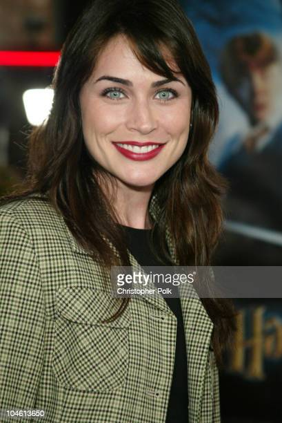 Rena Sofer during Harry Potter and The Chamber of Secrets Premiere at Mann Village Theatre in Westwwood CA United States