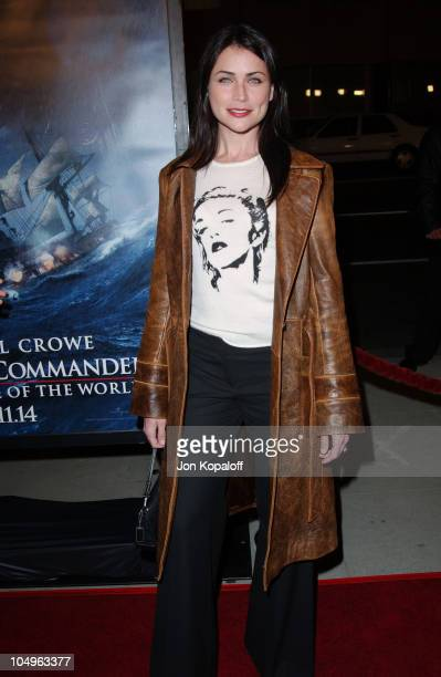 Rena Sofer during Master And Commander The Far Side Of The World Los Angeles Premiere at The Academy Of Motion Picture Arts And Sciences in Beverly...