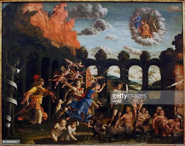 Renaissance Andrea Mantegna Italian painter Triumph of the Virtues 1502 Louvre