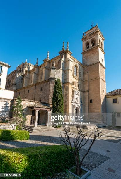 renaissance church and monastery, monasterio de san jeronimo, granada, andalusia, spain - granada provincia de granada stock pictures, royalty-free photos & images