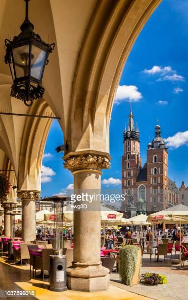 Renaissance Cloth Hall Main Market Square of Krakow, Poland