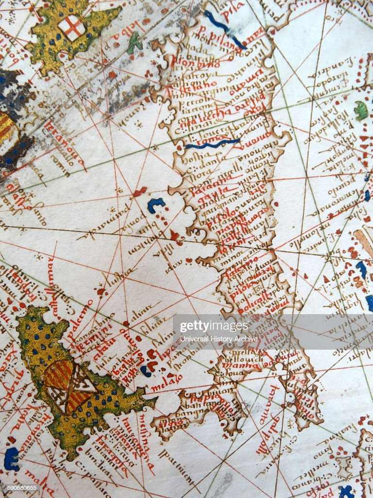 Renaissance map of Europe, Jacopo Russo Italy and Sicily . News ...