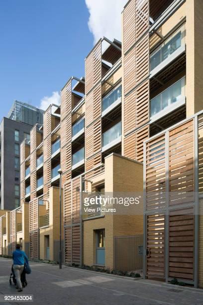 Renaissance Scheme Town Houses London United Kingdom Architect Assael Architecture Ltd 2014 External view of South Facade second block