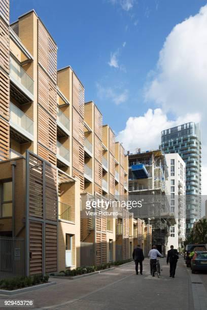 Renaissance Scheme Town Houses London United Kingdom Architect Assael Architecture Ltd 2014 External view of South Facade of second block