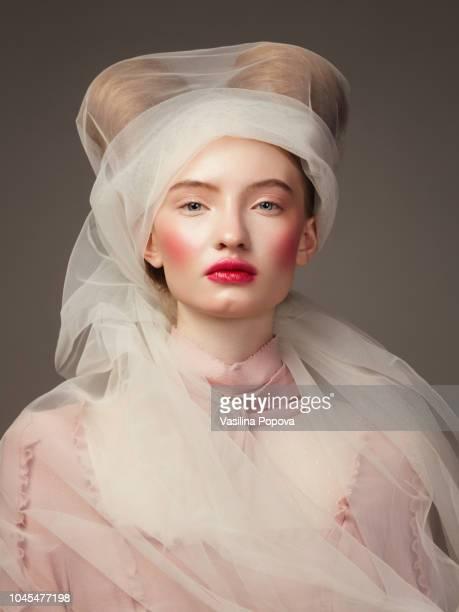 renaissance style portrait - fine art portrait stock pictures, royalty-free photos & images
