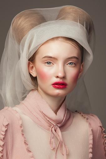 Renaissance style portrait - gettyimageskorea
