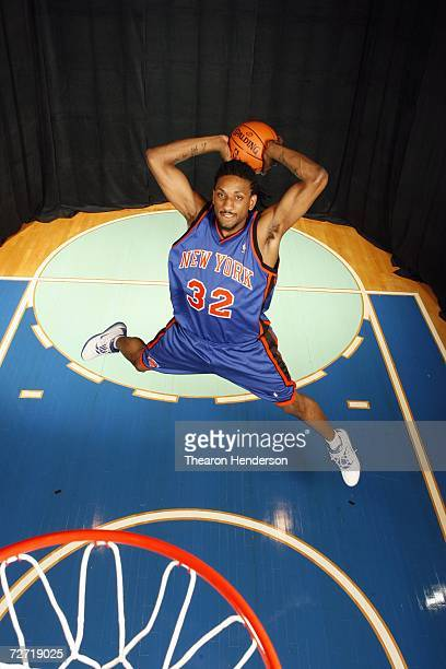 Renaldo Balkman of the New York Knicks poses for a portrait on September 14 2006 at the IBM Palisades Executive Conference Center in Palisades New...