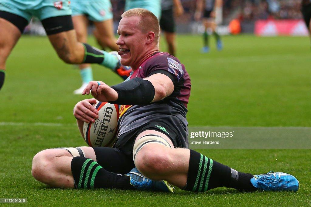 Harlequins v Gloucester - Premiership Rugby Cup : News Photo