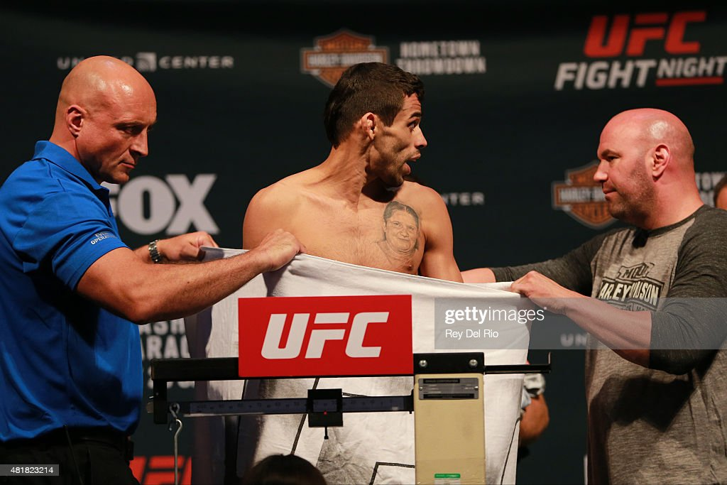 UFC Fight Night Weigh-in