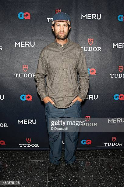 Renan Ozturk attends the Meru New York Premiere at MoMA Titus One on August 3 2015 in New York City