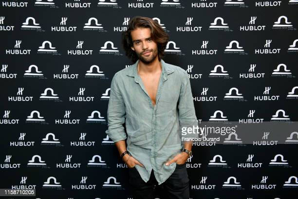 Renan Pacheco attends the launch of Hublot x Champion Spirit on June 27 2019 in Paris France