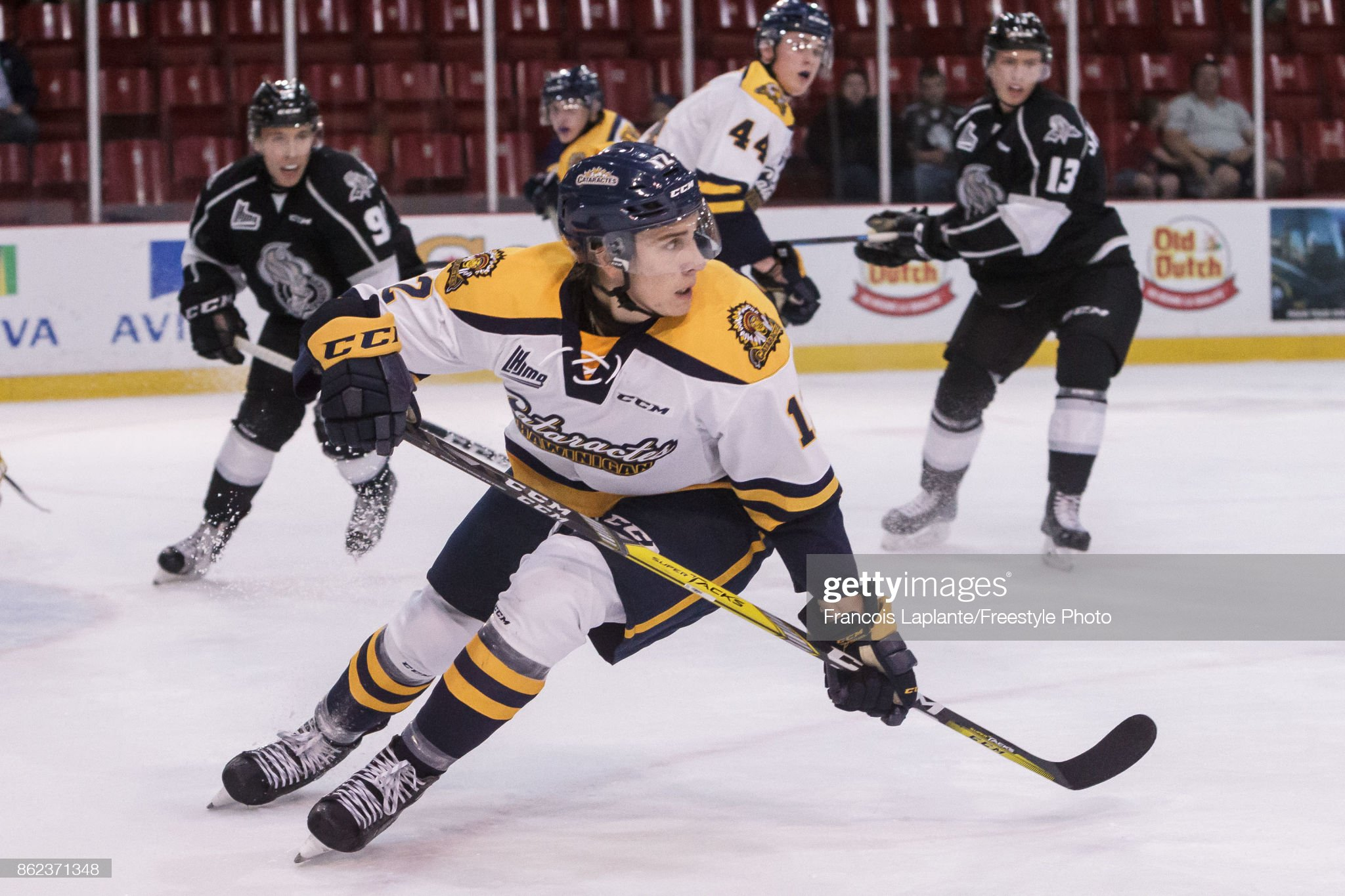 Shawinigan Cataractes v Gatineau Olympiques : News Photo