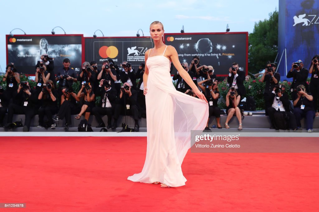 Renata Kuerten walks the red carpet ahead of the 'The Shape Of Water' screening during the 74th Venice Film Festival at Sala Grande on August 31, 2017 in Venice, Italy.