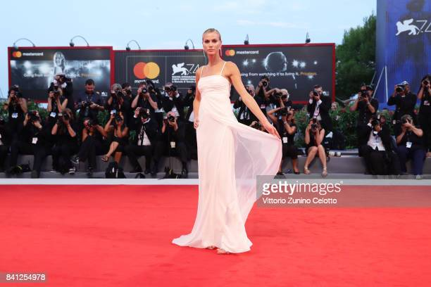 Renata Kuerten walks the red carpet ahead of the 'The Shape Of Water' screening during the 74th Venice Film Festival at Sala Grande on August 31 2017...