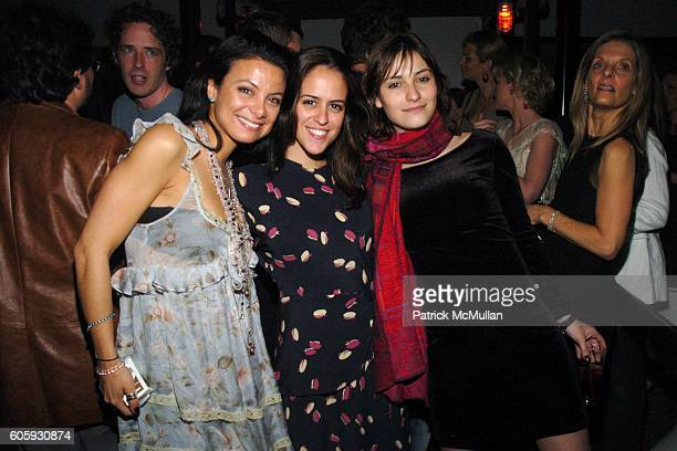 Renata Merriam Paula Bezerra de Mello and Laura Pratina attend INTERVIEW MAGAZINE afterparty for the NY Premiere of THE NOTORIOUS BETTIE PAGE at Bed...
