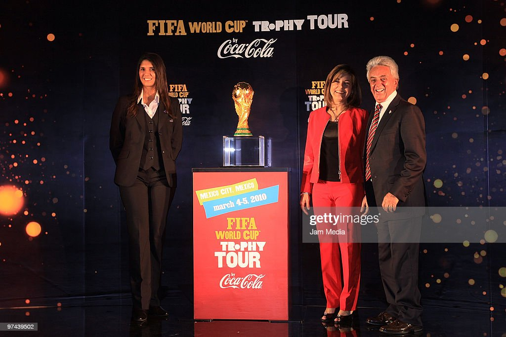 Fifa World Cup Trophy Tour In Mexico : News Photo