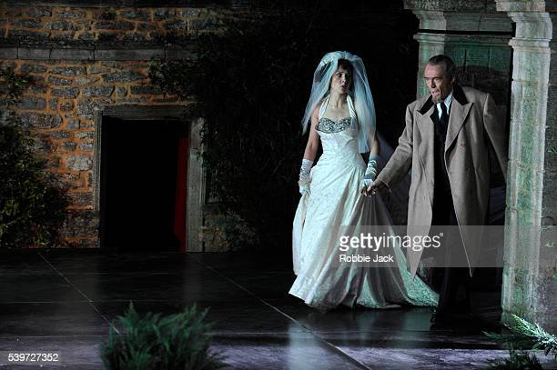 Renata Pokupi and Russell Smythe perform in the production of Antonio Vivaldi's opera L'Incoronazione Di Dario at Garsington in Oxfordshire |...
