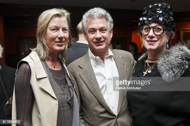 Renate Aller Lucien Rees Roberts and Carol Fertig attend STEVEN HARRIS ARCHITECTS TRUE LIFE at Private Club on December 6 2010 in New York City