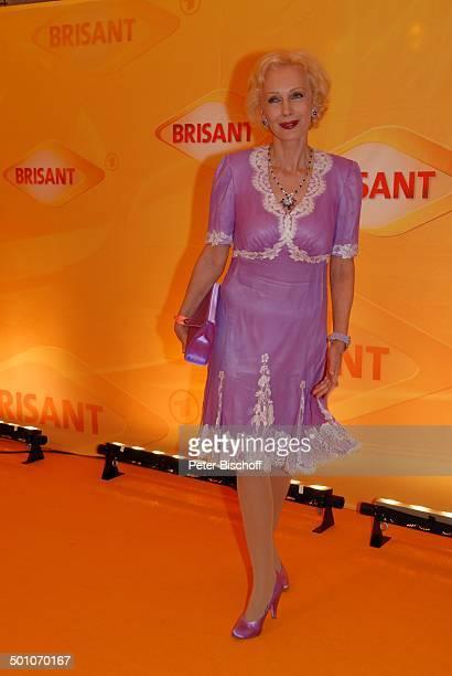 Renate HirschGiacomuzzi MDR Brisant Brillant 2007 Verleihung München Bayern Deutschland Europa Preis Auszeichnung roter Teppich Promi TP FTP PNr...