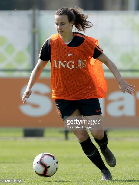 Renate Jansen of Holland Women during the Training Holland Women at the KNVB Campus on April 7, 2019 in Zeist Netherlands