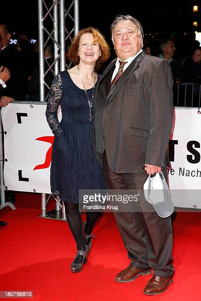 Renate Kroessner and Bernd Stegemann attend the First Steps Awards 2013 at Stage Theater on September 16 2013 in Berlin Germany