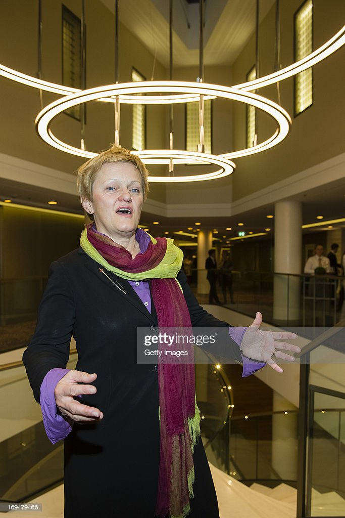 Renate Kuenast attends the 1st Charity Dinner by Federal Trust Fund Magnus Hirschfeld at Waldorf Astoria on May 25, 2013 in Berlin, Germany.