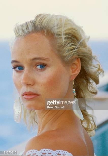 """Renate Langer, Porträt, neben den Dreharbeiten zur ZDF-Reihe """"Traumschiff"""", Folge 15, """"Brasilien"""", Episode 1-3, MS """"Berlin"""", , Kreuzfahrtschiff,..."""