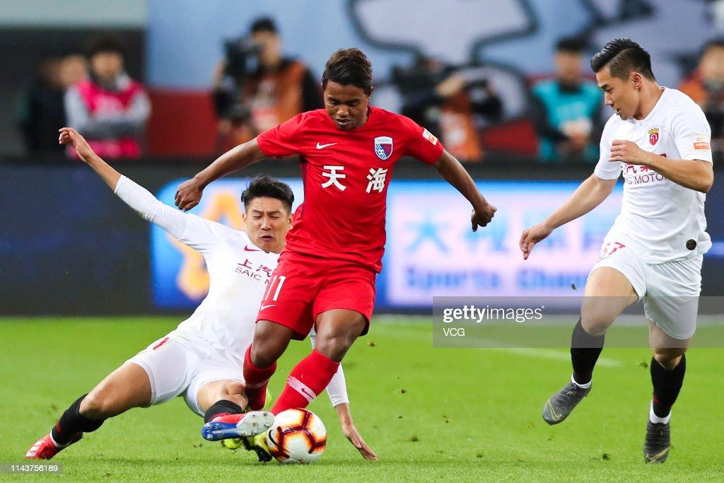 CHN: Tianjin Tianhai v Shanghai SIPG - 2019 Chinese Super League