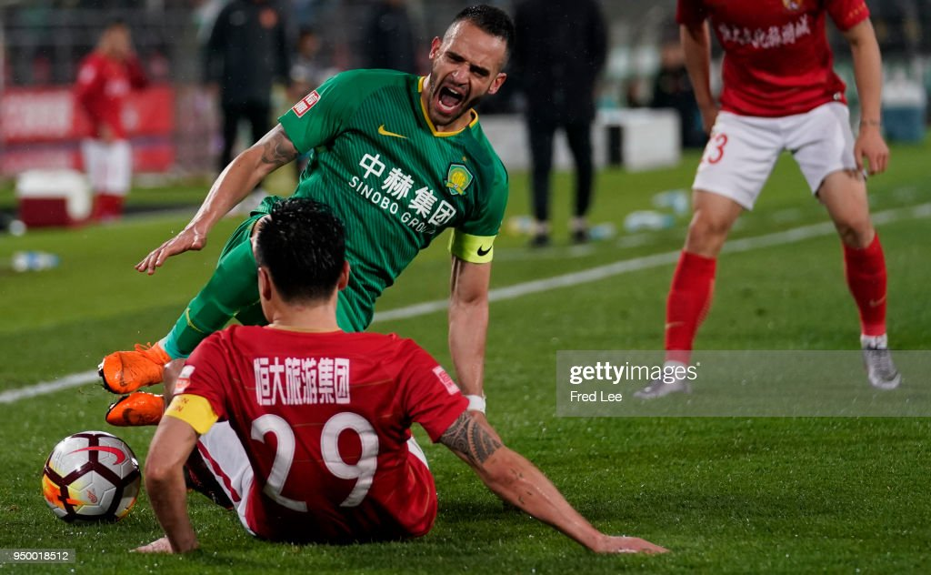 Beijing Guoan v Guangzhou Evergrande Taobao - 2018 China Super League