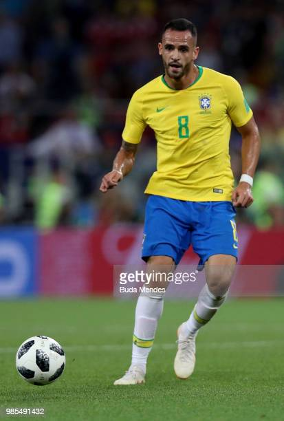 Renato Augusto of Brazil in action during the 2018 FIFA World Cup Russia group E match between Serbia and Brazil at Spartak Stadium on June 27 2018...