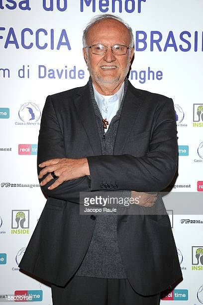 Renato Chiera attends 'Casa Do Menor L'altra Faccia Del Brasile' Milan Photocall on November 14 2013 in Milan Italy