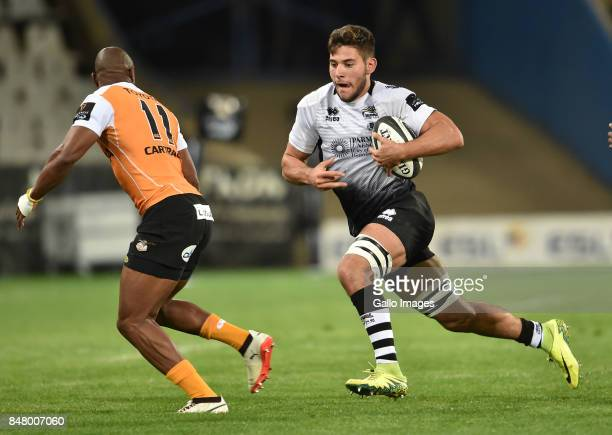 Renato Giammarioli of the Zebre during the Guinness Pro14 match between Toyota Cheetahs and Zebre at Toyota Stadium on September 16 2017 in...