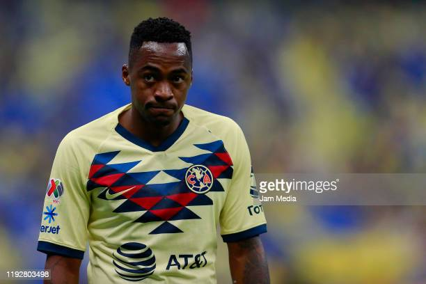Renato Ibarra of America looks on during the Semifinals second leg match between America and Morelia as part of the Torneo Apertura 2019 Liga MX at...