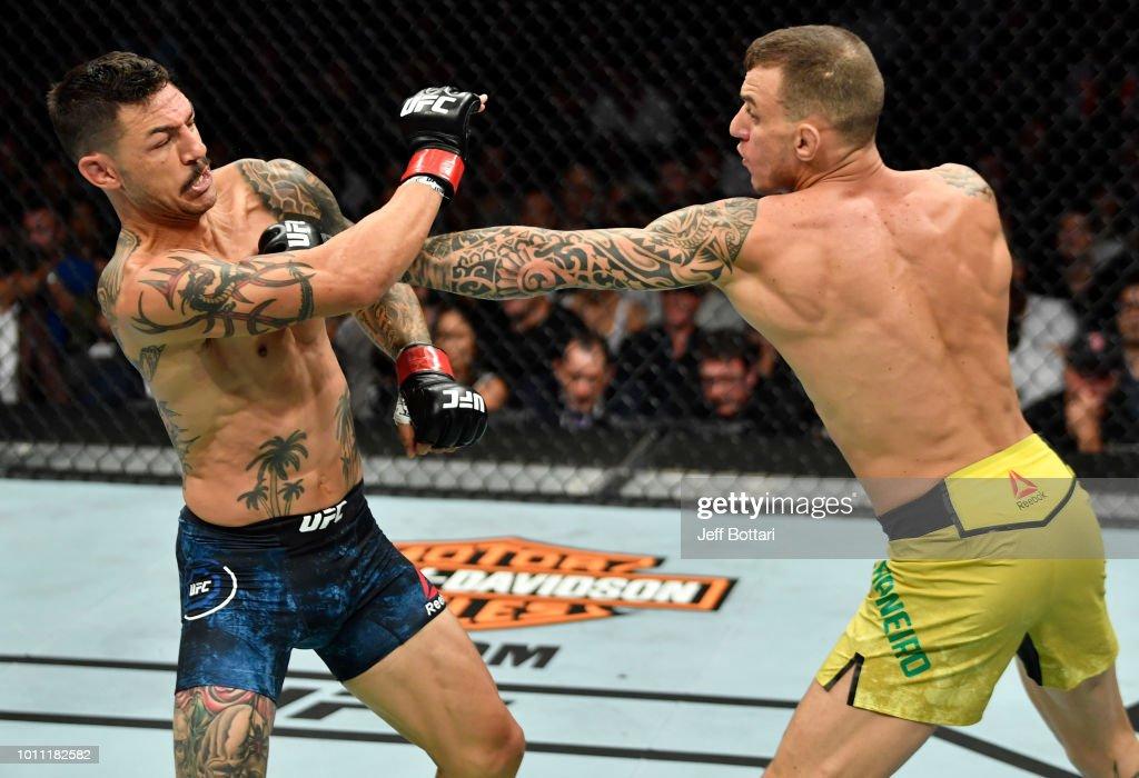 UFC 227: Swanson v Moicano : News Photo