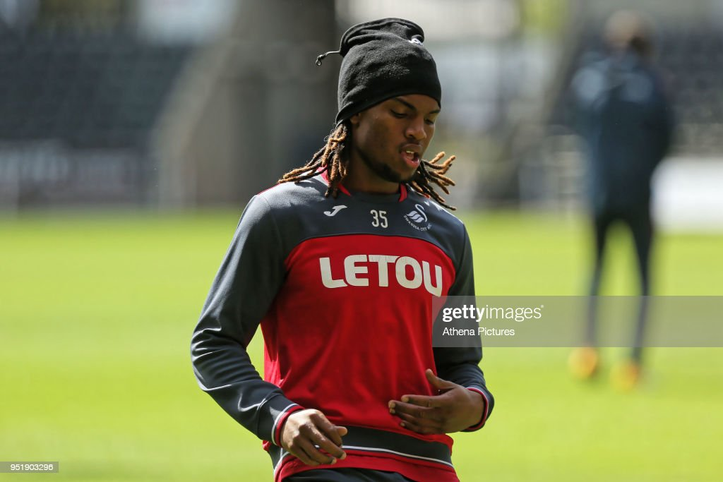 Swansea City Training : News Photo