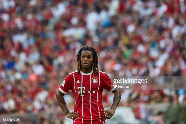 Renato Sanches of Bayern Muenchen looks on during the Audi Cup 2017 match between SSC Napoli and FC Bayern Muenchen at Allianz Arena on August 2 2017...