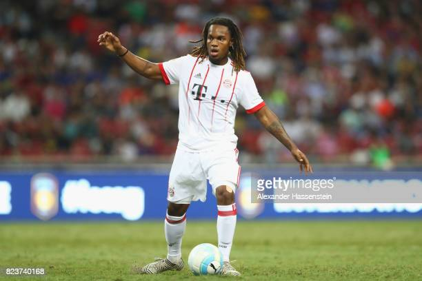 Renato Sanches of Bayern Muenchen runs with the ball during the International Champions Cup 2017 match between Bayern Muenchen and Inter Milan at...