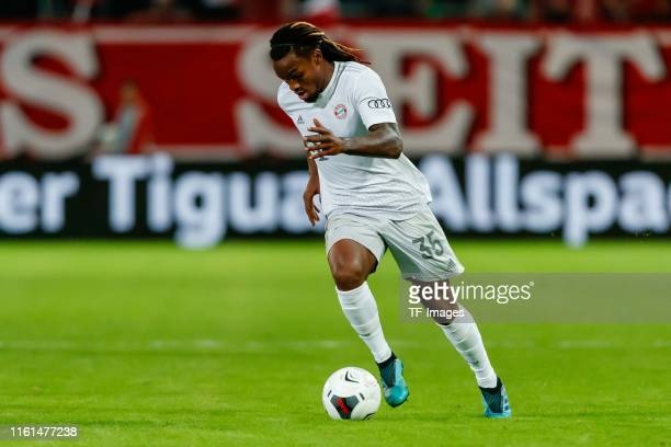 Renato Sanches of FC Bayern Muenchen controls the ball during the DFB Cup first round match between Energie Cottbus and FC Bayern Muenchen at Stadion...