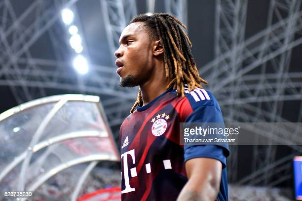 Renato Sanches of FC Bayern Muenchen looks during the International Champions Cup match between FC Bayern Munich and FC Internazionale at National...