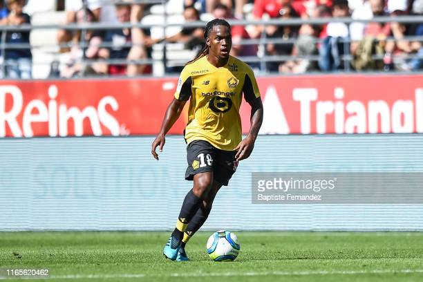 Renato Sanches of Lille during the French Ligue 1 football match between Stade de Reims and LOSC Lille on September 1, 2019 in Reims, France.