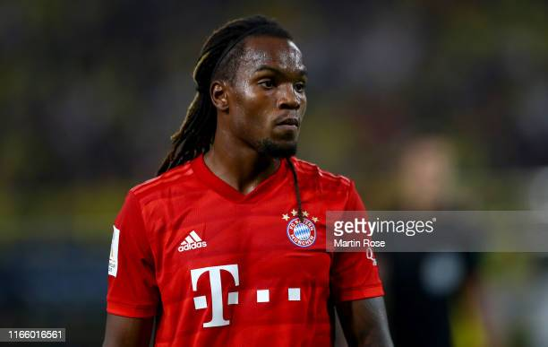 Renato Sanches of München looks on during the DFL Supercup 2019 match between Borussia Dortmund and FC Bayern München at Signal Iduna Park on August...