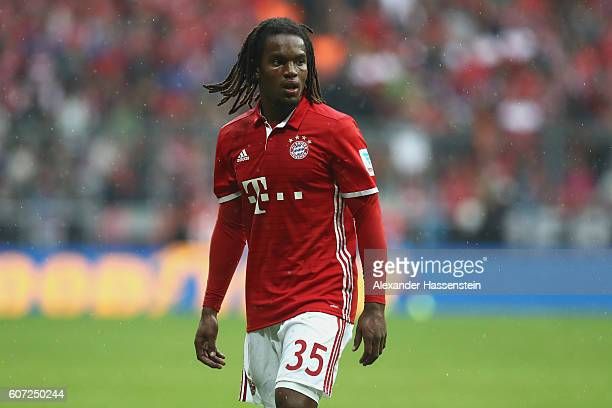 Renato Sanches of Muenchen looks on during the Bundesliga match between Bayern Muenchen and FC Ingolstadt 04 at Allianz Arena on September 17 2016 in...