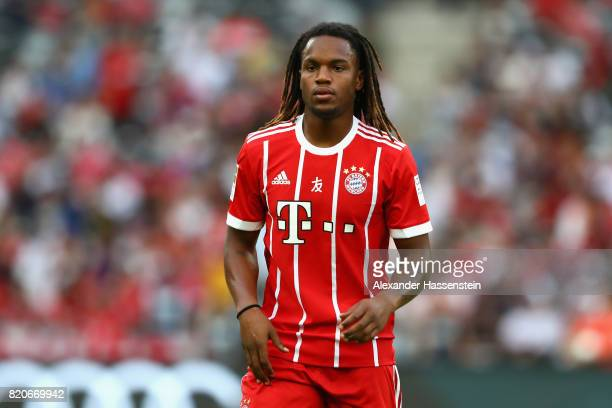 Renato Sanches of Muenchen looks on during the International Champions Cup Shenzen 2017 match between Bayern Muenchen and AC Milan at on July 22 2017...