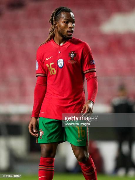 Renato Sanches of Portugal during the International Friendly match between Portugal v Andorra at the Estadio Da Luz on November 11, 2020 in Lisbon...