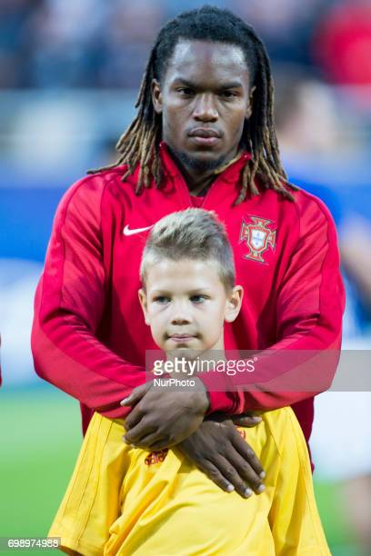 Renato Sanches of Portugal during the UEFA European Under21 Championship 2017 Group B match between Portugal and Spain at Gdynia Stadium in Gdynia...
