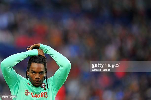 Renato Sanches of Portugal prior to the the International Friendly match between Portugal and Norway at Dragao Stadium on May 29 2016 in Porto...