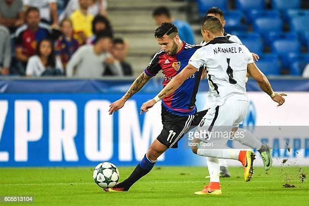 Renato Steffen of Basel during the Uefa Champions League match between Basel Fc and PFC Ludogorets Razgrad on September 13 2016 in Basel Switzerland