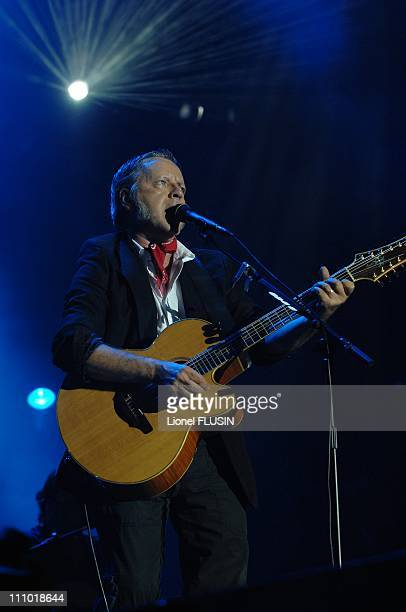 Renaud at the 32nd Paleo Music Festival in Nyon Switzerland on July 29th 2007