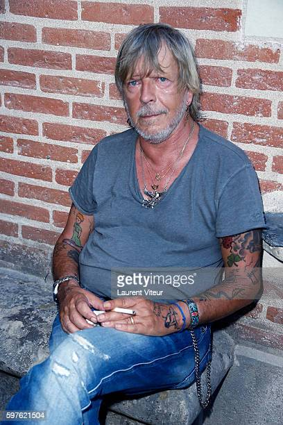 Renaud attends 21th 'La Foret des Livres ' Diner Party at Clos Luce Castle on August 27 2016 in Amboise France